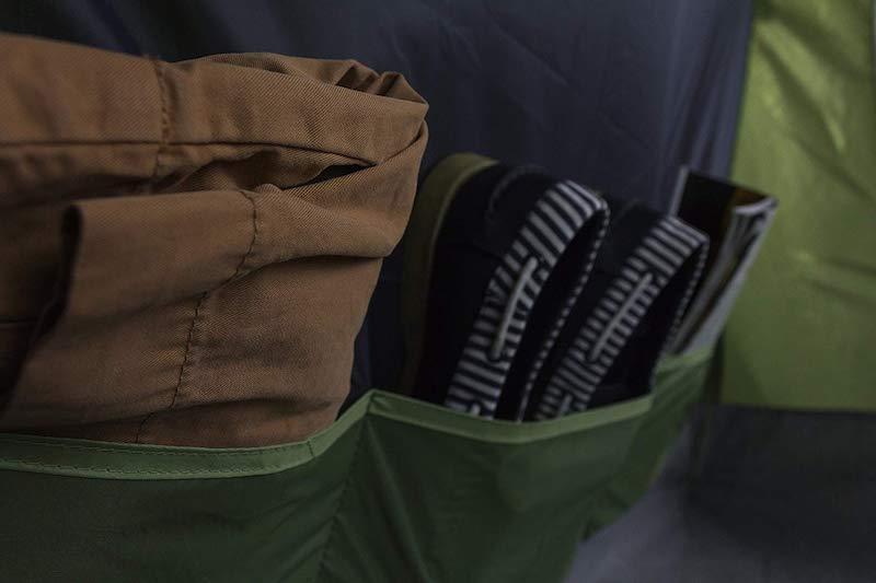 Eingenähte-Taschen-Zelt