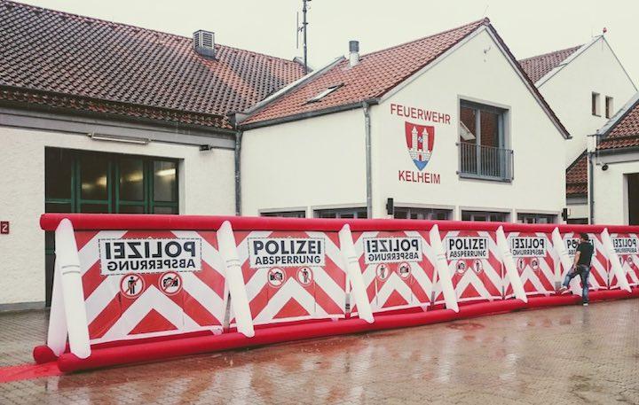 Gafferwand-Feuerwehr-Haus