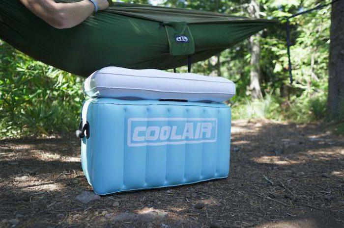 coolAIR: Aufblasbare Kühlbox für den Sommer | ultraleicht!