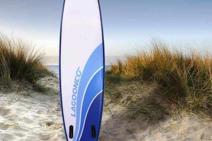 Glider 300: Aufblasbares Stand-Up Paddling Board von BRAST