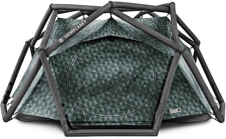 Aufblasbares Pop Up Zelt von HEIMPLANET – in 5 Sekunden startklar!