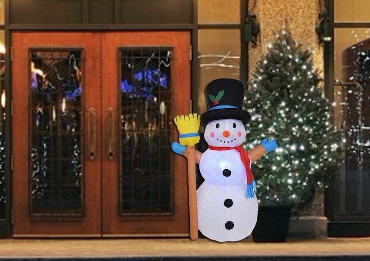 Percauti-aufblasbares-Weihnachtslicht-Schneemann-Tür