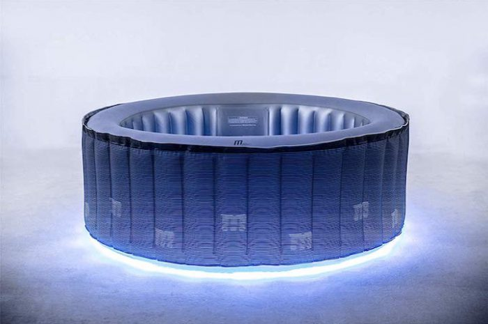 Miweba MSpa aufblasbarer LED Whirlpool: Schick und modern!