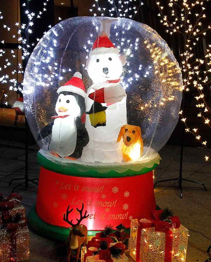 Aufblasbare-Schneekugel-Lichter-Garten-Geschenke