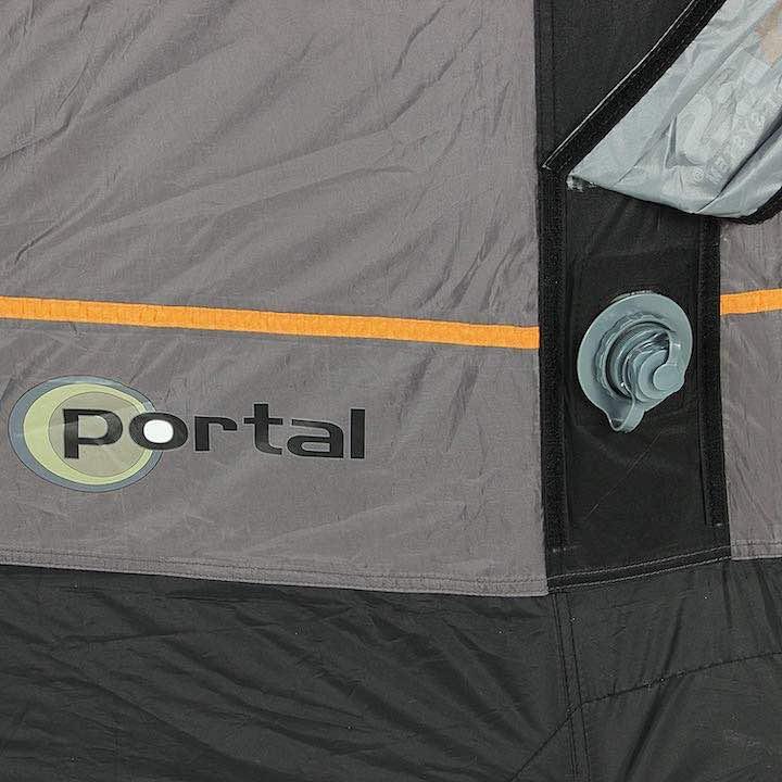 Aufblasbares-Campingzelt-Lufteinlass