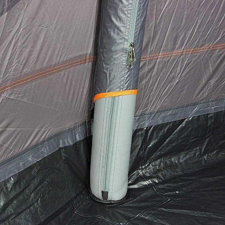 Aufblasbares-Zelt-Luftsäule