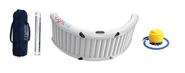 C-Light-Air-Aufblasbarer-Lichtreflektor-Zubehör-Pumpe