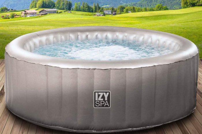 IZY Spa: Günstiger aufblasbarer Whirlpool für den schmalen Geldbeutel