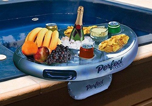 Aufblasbarer Pool Butler für Getränke und Snacks von Perfect Pools