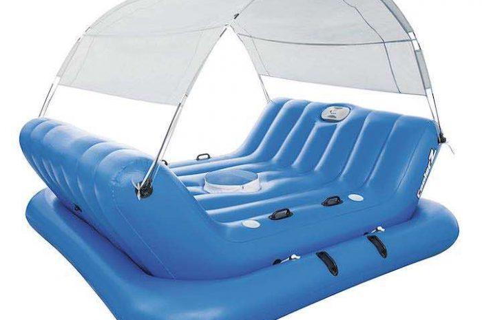 Aufblasbare Schwimminsel CoolerZ Rock-N-Shade von Bestway
