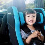 aufblasbarer Kindersitz von Nachfolger im Einsatz