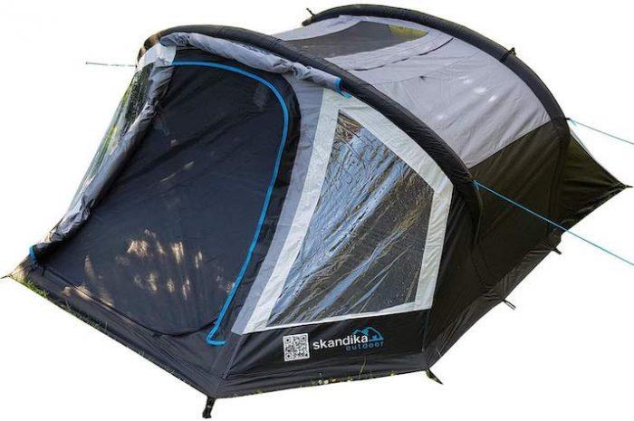 skandika Easy Air 3 XL: Aufblasbares Zelt mit Air Tubes und Co.
