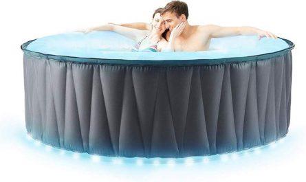 Miweba Pool mit LED Beleuchtung mit zwei Personen
