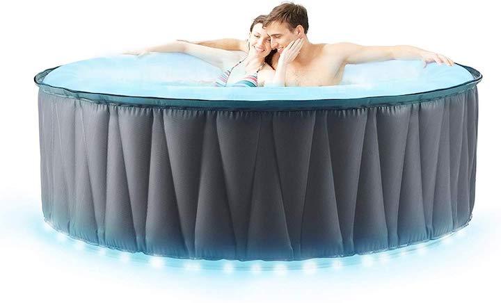 Miweba-Pool-mit-LED-Beleuchtung-mit-zwei-Personen