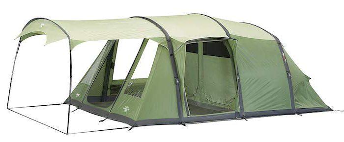 Vango Boys Odyssey Air: Aufblasbares Zelt mit getrennten Räumen