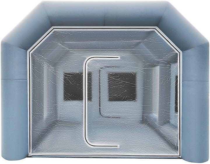 husuper-lackierkabine-aufblasbar