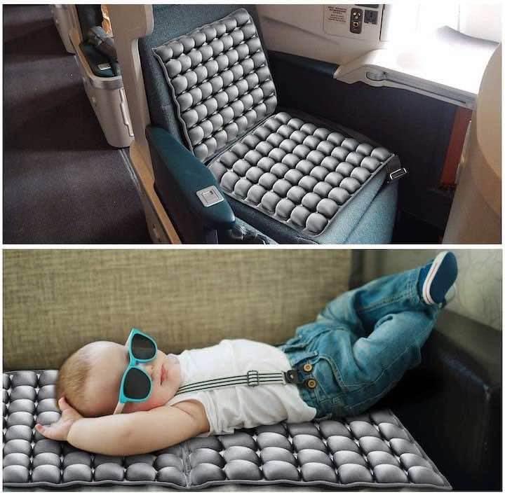 Orthopaedisches-Sitzkissen-in-Bahn-und-mit-Baby