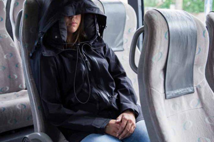 NECKPACKER 2.0: Clevere Hybrid-Jacke mit aufblasbarer Kapuze