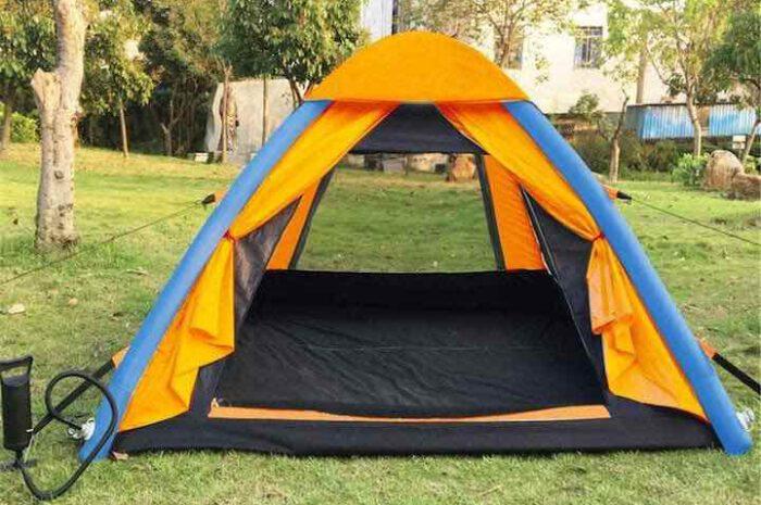 Aufblasbares Anti-UV Zelt für sicheres und komfortables Camping