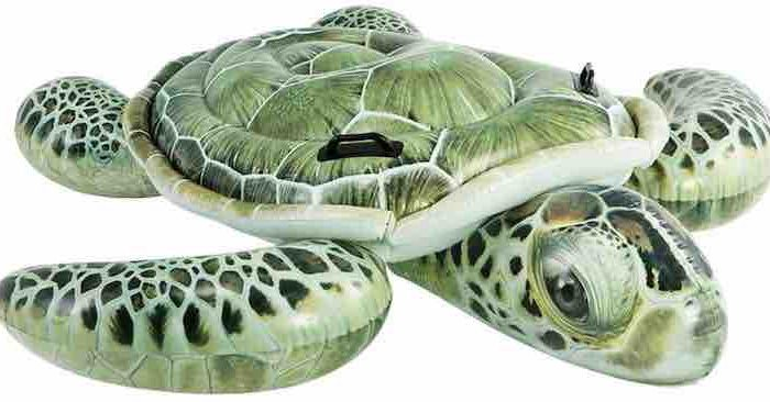 Aufblasbare Schildkröte von Intex für Kinder – mehr Spaß im Wasser!