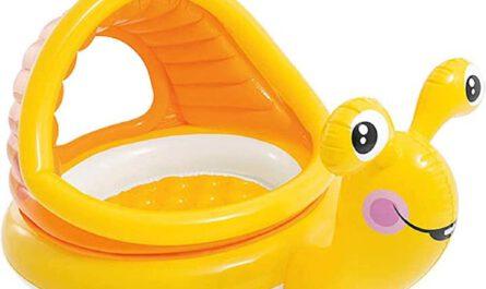 Babypool in Form einer Schnecke