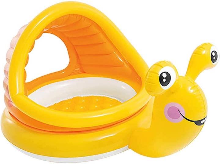 Babypool-in-Form-einer-Schnecke