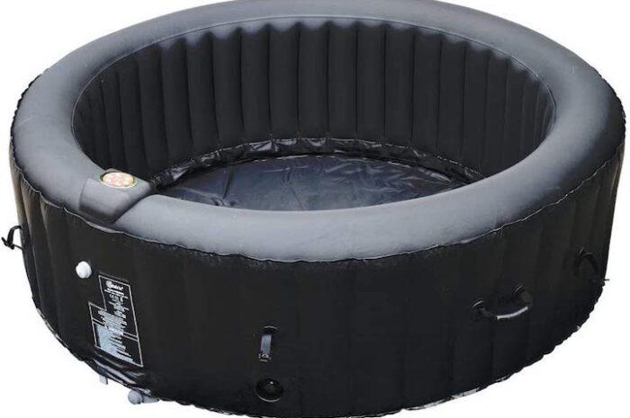 BeneoSpa aufblasbarer Whirlpool mit satten 130 Luft-Massagedüsen