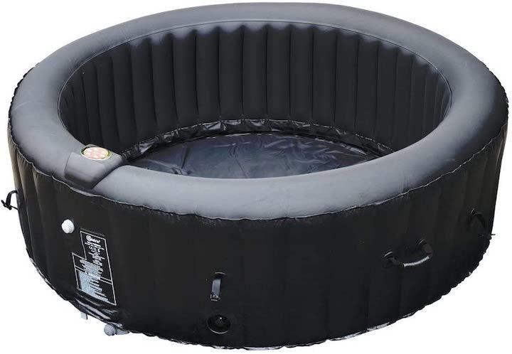 BeneoSpa-aufblasbarer-Whirlpool-aufgebaut