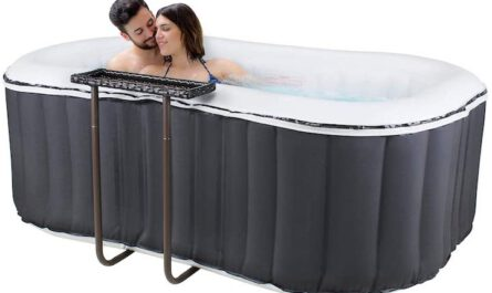 aufblasbarer Outdoor Whirlpool Delight Nest