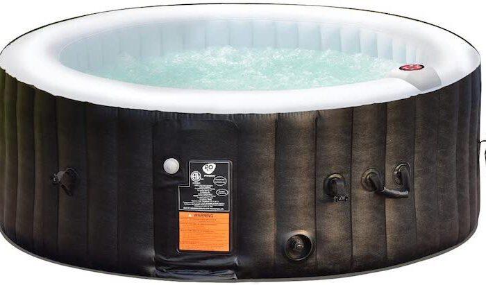 COSTWAY Whirlpool aufblasbar: Spa-Feeling für den eigenen Garten
