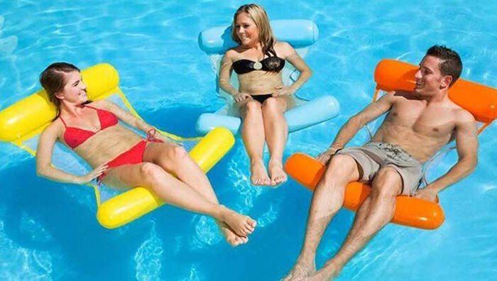 ArKone aufblasbare Wasserhängematte für Entspannung im Wasser