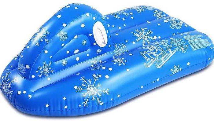 TwoCC Schneeboot: Aufblasbarer Winterspaß für Jung und Alt