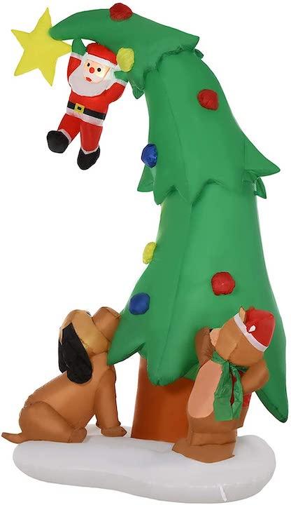 Gesamtbild-aufblasbarer-Weihnachtsbaum-mit-Beleuchtung