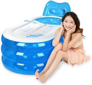 Bathtub-aufblasbare-Badewanne-mit-Frau-300x278