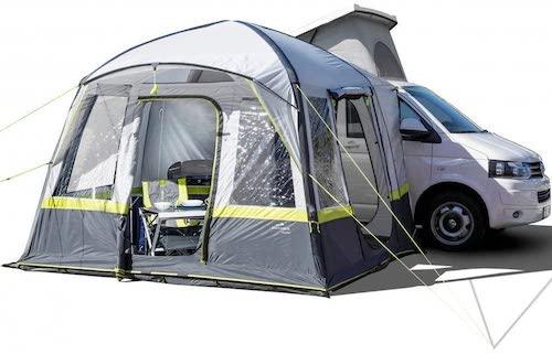 Explorer Trouper: Aufblasbares Vorzelt für Campingbusse und Co.