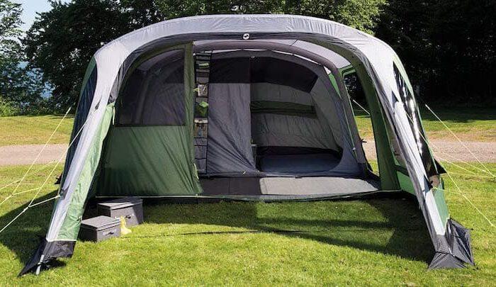 Outwell Chatham: Aufblasbares Zelt mit extra viel Geräumigkeit