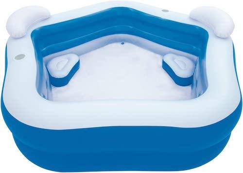 Bestway-Family-Pool-mit-Sitzerhoehung-und-Nackenkissen