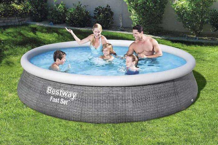 Bestway Pool in Rattanoptik: Badespaß und schickes Design zugleich