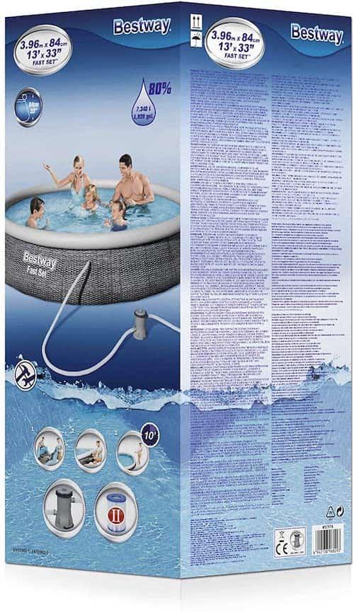 Verpackung-zu-aufblasbarem-Bestway-Pool