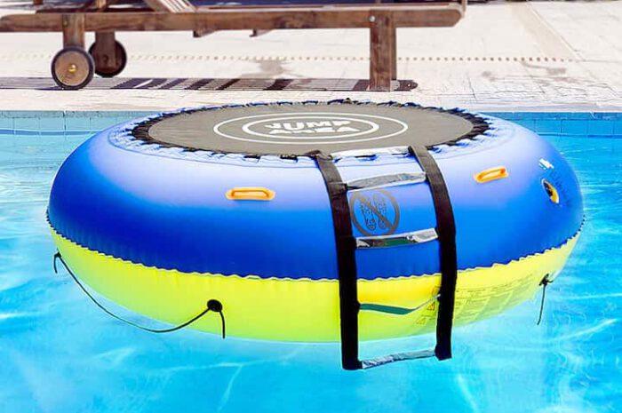 infactory Wassertrampolin: Sorgt für jede Menge Spaß im kühlen Nass