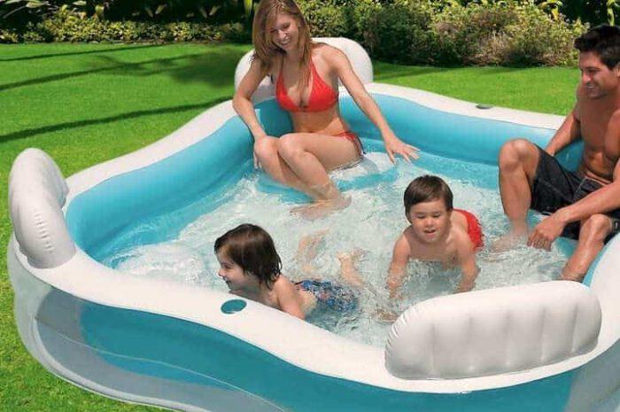 Intex Kinderpool: Bietet Badespaß und Komfort für Zuhause